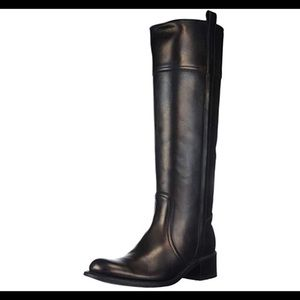 Sendra 8.5 black leather JYJY riding boots
